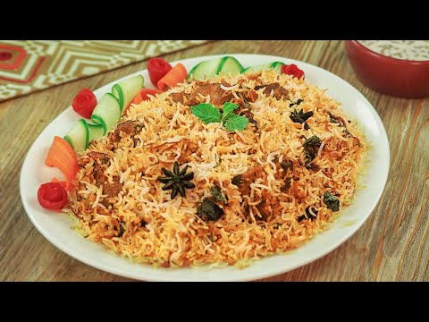 Mutton Biryani Recipe (Pakistani) By SooperChef