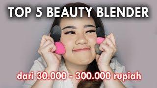 TOP 5 Beauty Sponge ! Super Rekomen !