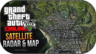 GTA 5 In Game Satellite Map & Radar Feature Mod! (GTA 5 PC Mods)