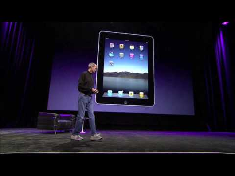 Apple iPad Keynote January 2010 - Part 1 Music Videos