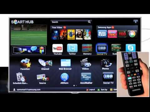 132724 SAMSUNG 3D SMART TV LED UE46F6320 How to Use Social TV