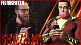SHAZAM! - KRITIK Review Deutsch / German