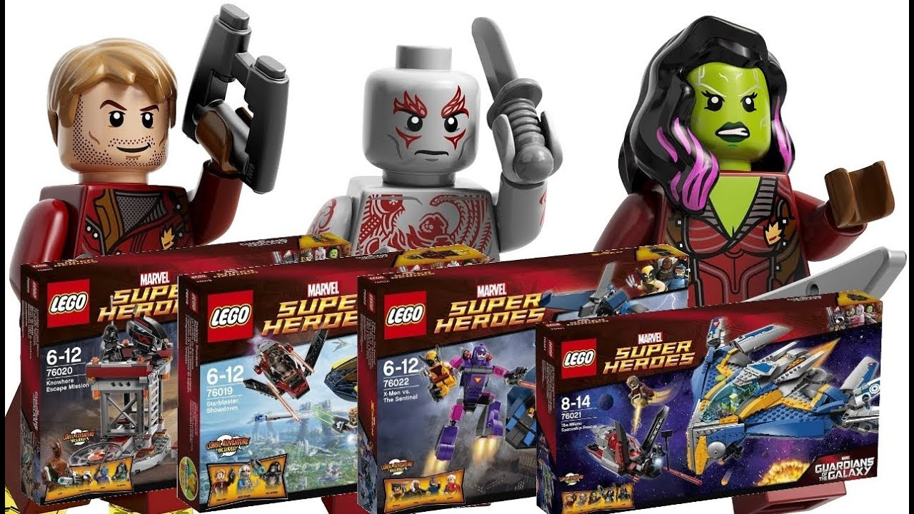 LEGO Guardians of the Galaxy, X-Men 2014 Summer Sets Revealed ... X Men Days Of Future Past Photos