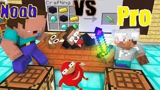 Monster School : NOOB vs PRO (Funny Crafting) - Minecraft Animation
