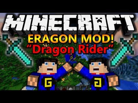 Minecraft 1.7.10 Mods | Eragon - Dragon Rider Mod Showcase