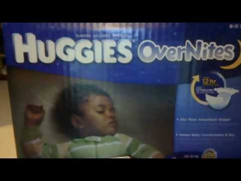 Huggies OverNites Diaper Review