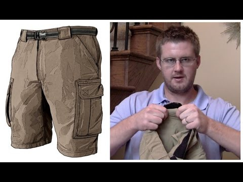 Duluth Trading Co. Khaki Cargo Shorts Review