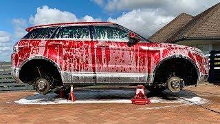 Range Rover Evoque Wheels-Off Wash