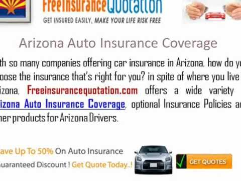 Arizona Auto Insurance Company - Cheap Arizona Auto Insurance Rates