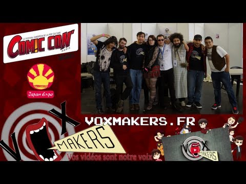 Japan Expo 2013 : Version VoxMakers !