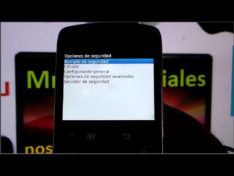 Poner tu Blackberry en su estado de fabrica Master Reset Blackberry Actualizado