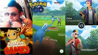 CH3VI vs DRACO !! COMBATES ÉPICOS (PvP) - Pokemon Go