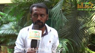 Kathiravan At Kathiravanin Kodai Mazhai Movie Team Interview