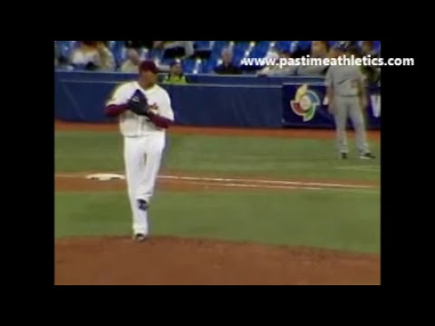 Felix Hernandez Slow Motion Pitching Mechanics - Baseball Analysis Mariners Venezuela WBC