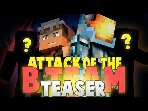 "Minecraft Machinima TEASER: ""The New Guys"" - Guess Who's Joining our B-Team Server!?"