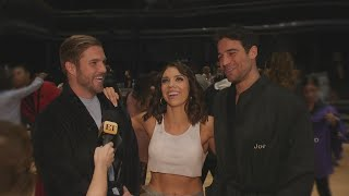 DWTS: Joe Amabile and Jordan Kimball on Their Sexy Shirtless Salsa During Trio Week (Exclusive)