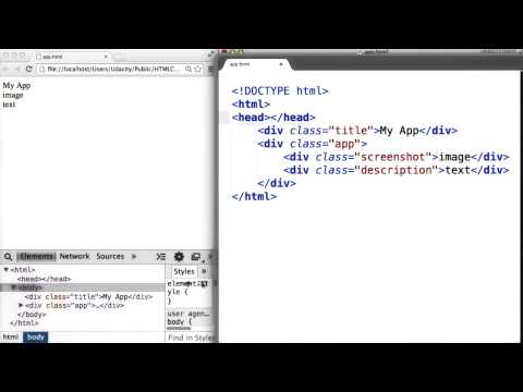 Download  Intro to HTML and CSS - Adding Style in Sublime Text Gratis, download lagu terbaru