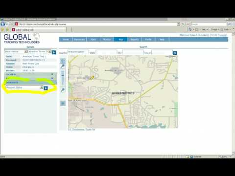 GPS Tracking Software Demo 6 - Remote Control Of A Vehicle