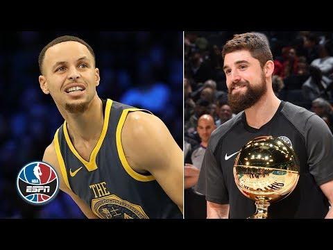 Joe Harris stuns Steph Curry in 3-point contest | NBA All-Star 2019 thumbnail