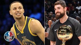 Joe Harris stuns Steph Curry in 3-point contest   NBA All-Star 2019