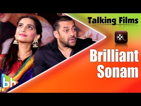 Salman Khan Slams Those Who Don't Consider Sonam Kapoor A Good Actress