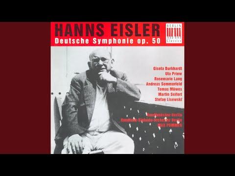 Deutsche Sinfonie, Op. 50: IX. Arbeiterkantate,