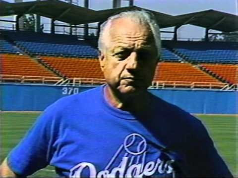 Lasorda goes off!