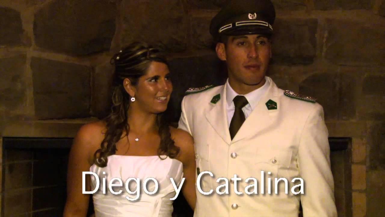 Matrimonio Catolico En Chile : Video clip matrimonio de capitán carabineros chile
