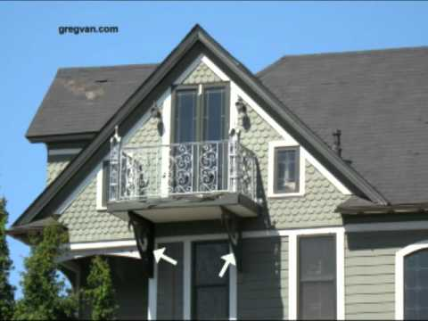 Decorative Non Structural Balcony Supports Victorian