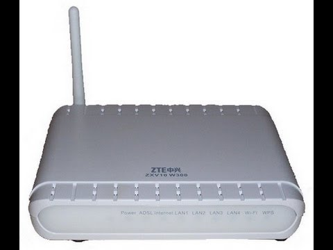how to configure zte wireless router note