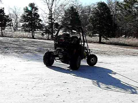 Carbide 150cc Dune Buggy on