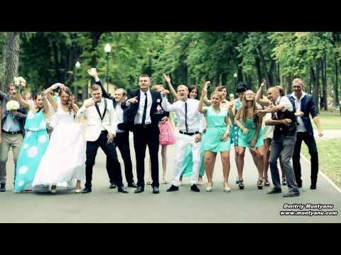 Cамый ЛУЧШИЙ ПОПУЛЯРНЫЙ свадебный клип.2017 год ПОБЕДИТЕЛЬ В КОНКУРСЕ. Веселая прикольная свадьба.