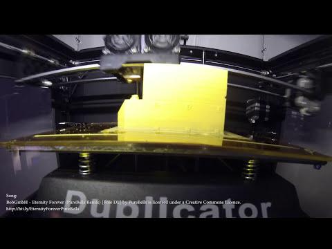 WanHao Duplicator 4S - Creative Tools version - Unbox - Walkthrough - Testprint   Part 1