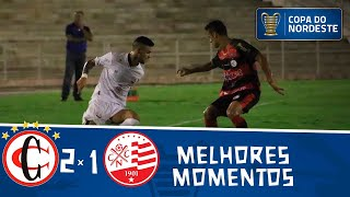 Campinense 2 x 1 Náutico | Gols e melhores momentos | Jogo de ida | Pré-Copa do Nordeste 2020