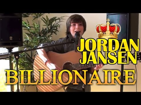 "Billionaire by Travie McCoy - Jordan Jansen Acoustic Cover ""No Rap"""