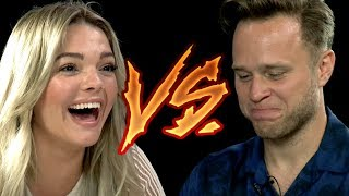 Louisa Johnson And Olly Murs In The Hardest