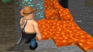 Realistic MINECRAFT REMAKE on ROBLOX