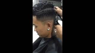 Cara cepat potong rambut tipis
