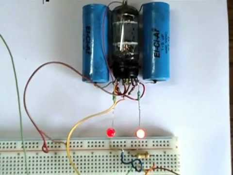 Vacuum Tube / Valve / Triode Astable.AVI