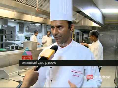 Special food menu dedicated to Indian Cricket team in Kochi