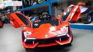 Siêu xe oto điện trẻ em Lamborghini NEL-603    Baby Plaza