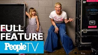 Download Lagu Pink Opens Up About Raising Strong Kids, How Her Childhood Shaped The Way She Parents | PeopleTV Gratis STAFABAND