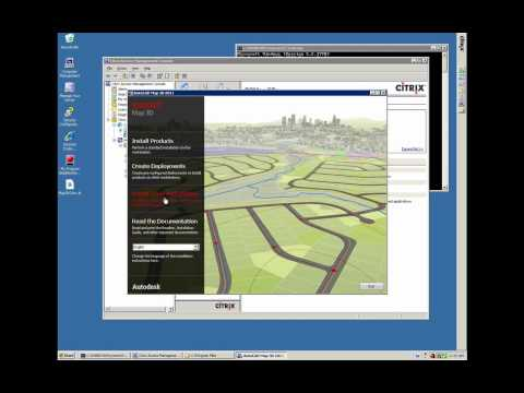 Troubleshooting Map 3D on Citrix