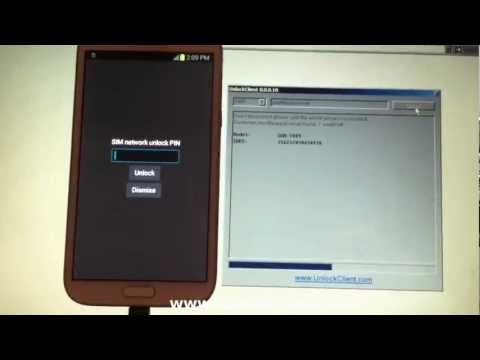 T889 I317 I317M N7105 Samsung Galaxy Note 2 instant permanent unlock by USB cable