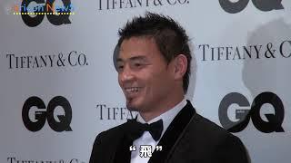 """五郎丸歩、今年の漢字は""""飛"""" 『GQ Men of the Year 2015』授賞式"""