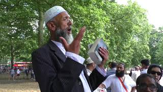 Video: I am Educated. Hold your Bible and read my verse - Chacha Usman vs Christian