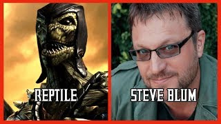 Characters and Voice Actors - Mortal Kombat X