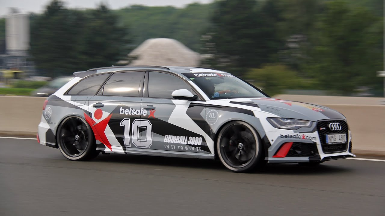 Gumball 3000 Team Jon Olsson Rebellion R2k Audi Rs6