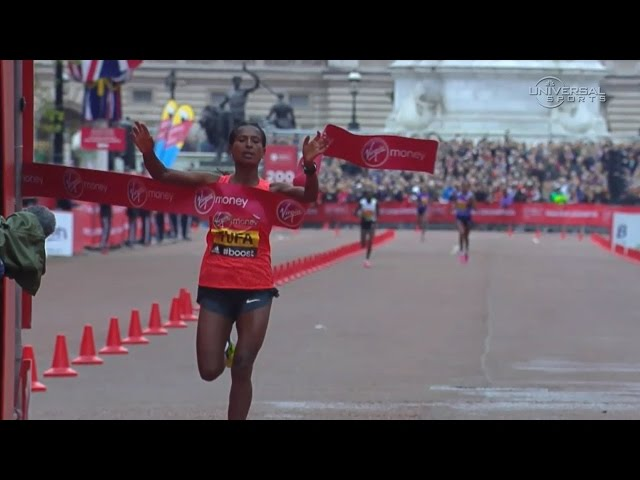 Tigist Tufa wins 2015 London Marathon Women's Race - Universal Sports