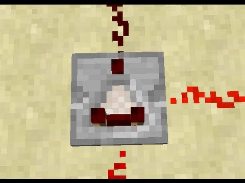 minecraft how to make a redstone comparator